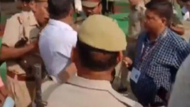 Photo of BJP workers beat up presiding officer in Moradabad