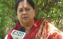 Congress government changed names of BJP schemes in Budget: Ex-CM Vasundhara