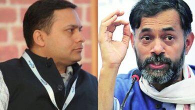 Photo of Amit Malviya targets Yogendra Yadav via edited video clip after TV debate face-off
