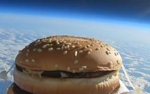 Is your 'Big Mac Burger' out of this world?