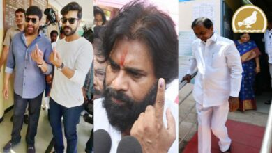 Photo of Celebrities and politicians cast their votes