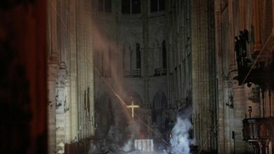 Photo of Short circuit or cigarettes probably caused Notre Dame blaze