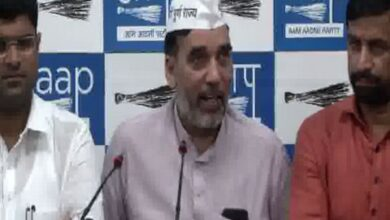 Photo of Case against AAP leader Gopal Rai for 'violating' poll code