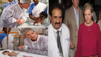 Photo of Hyderabad: Princess Sophie Helen an emotional visit to Gandhi Hospital