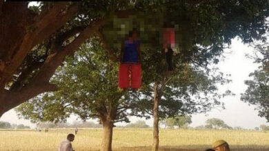 Photo of MP: Bodies of two minor girls found hanging in Chitrakoot