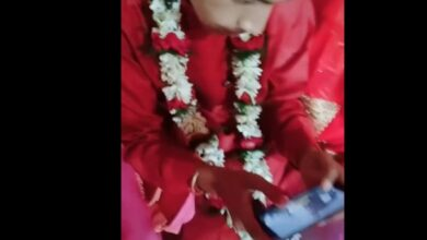 Photo of PUBG addiction: Groom busy playing 'PUBG' at his wedding