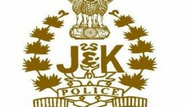Photo of J-K police arrests two terrorists for attacking police post in Srinagar