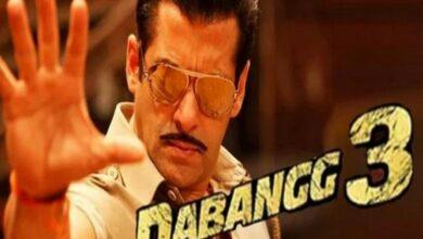 Photo of Salman Khan shares new still from 'Dabangg 3'