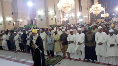Photo of Shab-e-Meraj observed with fervour in Hyderabad