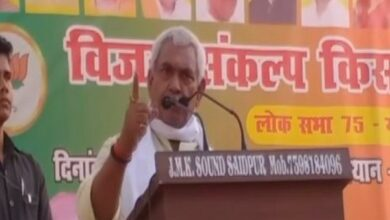Photo of A finger pointed at BJP workers won't exist after 4 hrs: Union Minister's open threat in Ghazipur