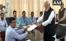 Seeking second term in office, PM Modi files nomination from Varanasi LS seat