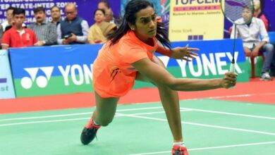 Photo of PV Sindhu crashes out of Singapore Open