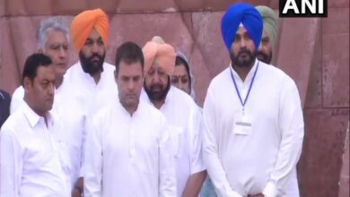Photo of Rahul visits Jallianwala Bagh memorial, says 'cost of freedom must never be forgotten'