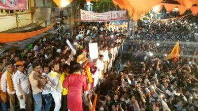 Photo of Hyderabad: Provocative slogan raised during Ram Navami Shobha Yatra