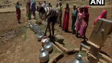 Photo of Songadh: Villagers near Ukai dam irked by water scarcity, unavailability of roads