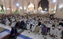 First ten days Taraweeh Prayers of Ramadan ended yesterday