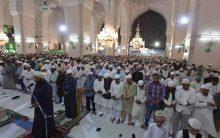 NAMAZ-e-TARAVEEH at Mecca Masjid