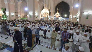Photo of NAMAZ-e-TARAVEEH at Mecca Masjid