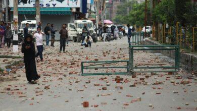 Kashmir-Protest