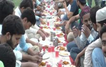 Thousands attend Iftar organised by AMU students