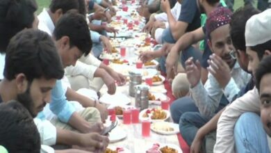Photo of Thousands attend Iftar organised by AMU students