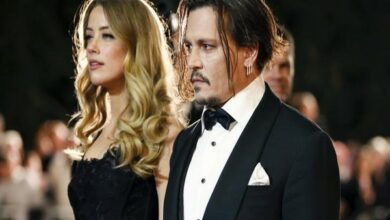 Photo of Johnny Depp claims Amber Heard 'painted on bruises', caused 'serious bodily injury'