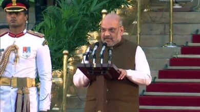 Photo of Modi's lieutenant Amit Shah appointed as Union Home Minister