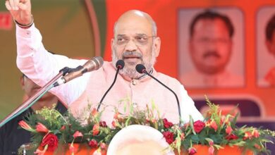 Photo of Amit Shah denied permission to hold rally in Jadavpur