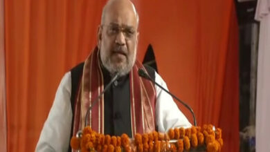 Photo of Shah urges people to chant 'Jai Shri Ram' so loudly to be heard in West Bengal