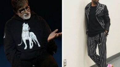 Photo of Amitabh Bachchan and Ayushmann Khurrana team up for 'Gulabo Sitabo'