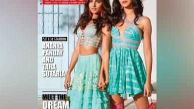 Photo of Ananya and Tara shine in latest Hello! Magazine cover