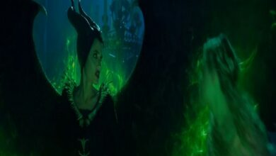 Photo of Angeline Jolie's wicked look in 'Maleficent: Mistress in Evil' teaser trailer