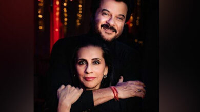 Photo of Anil Kapoor's affectionate message for wife on 35th anniversary