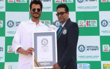 Ariel India achieves a Guinness World Records certificate for 'Largest Laundry Lesson'