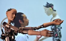 'More than human': Wonders of AI on show in London
