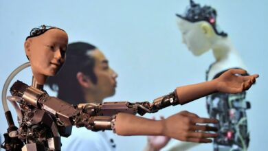 Photo of 'More than human': Wonders of AI on show in London