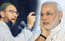 Desperation showing on Modi's face: Owaisi