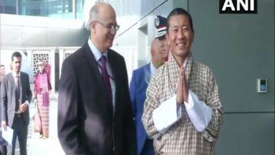 Photo of Bhutan PM reaches Delhi for Modi's oath ceremony