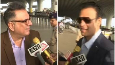 Photo of Vivek Oberoi, Boman Irani in Delhi to attend PM Modi's swearing-in