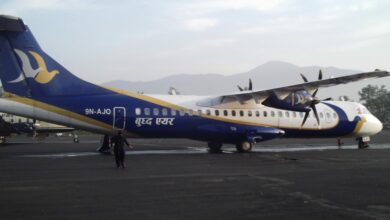 Photo of Buddha Air starts its journey from Kolkata Airport
