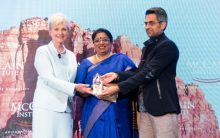 IPS officer who oversaw Nirbhaya rape case receives McCain Institute Award