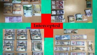 Photo of Three held at IGI airport, foreign currencies worth Rs 2.30 cr seized