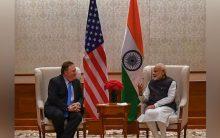Pompeo congratulates Modi; calls India's election an 'inspiration'