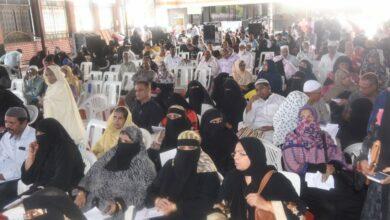 Photo of Siasat's Millat Fund holds 98th Du-ba-Du program