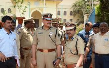 CP Anjani kumar review arrangements at Public Garden for T formation day