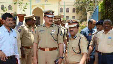 Photo of CP Anjani kumar review arrangements at Public Garden for T formation day