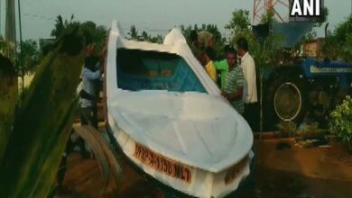 Photo of Empty boat found in suspicious condition 'hardly 50 km away from Sriharikota'