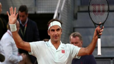 Photo of Federer defeats Gasquet in Madrid Open