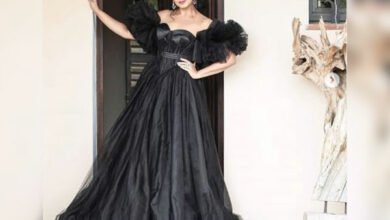Photo of Cannes 2019: Huma Qureshi oozes oomph in tulle black gown