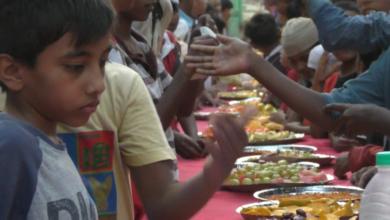 Photo of Iftar party at Owaisi nagar Near Dargah Barhane Shah Saheb